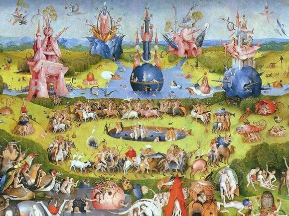 Géneros pictóricos: paisaje onírico ejemplo