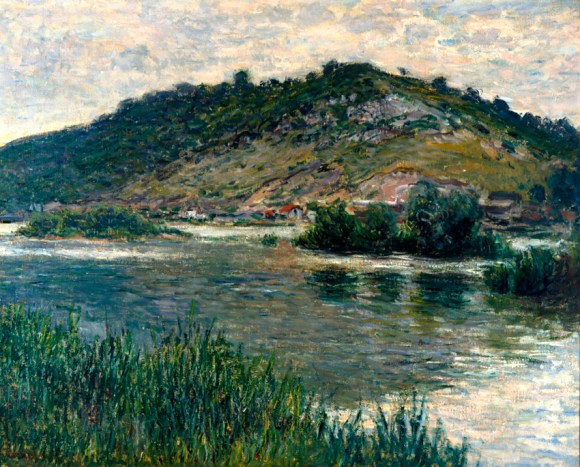 Paisaje en Port-Villez (1883), de Claude Monet.