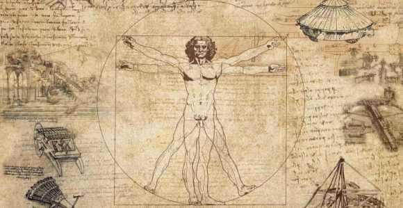 Hombre de Vitruvio Leonardo da Vinci