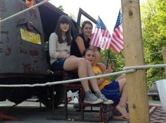 Savannah, Sierra and Starr