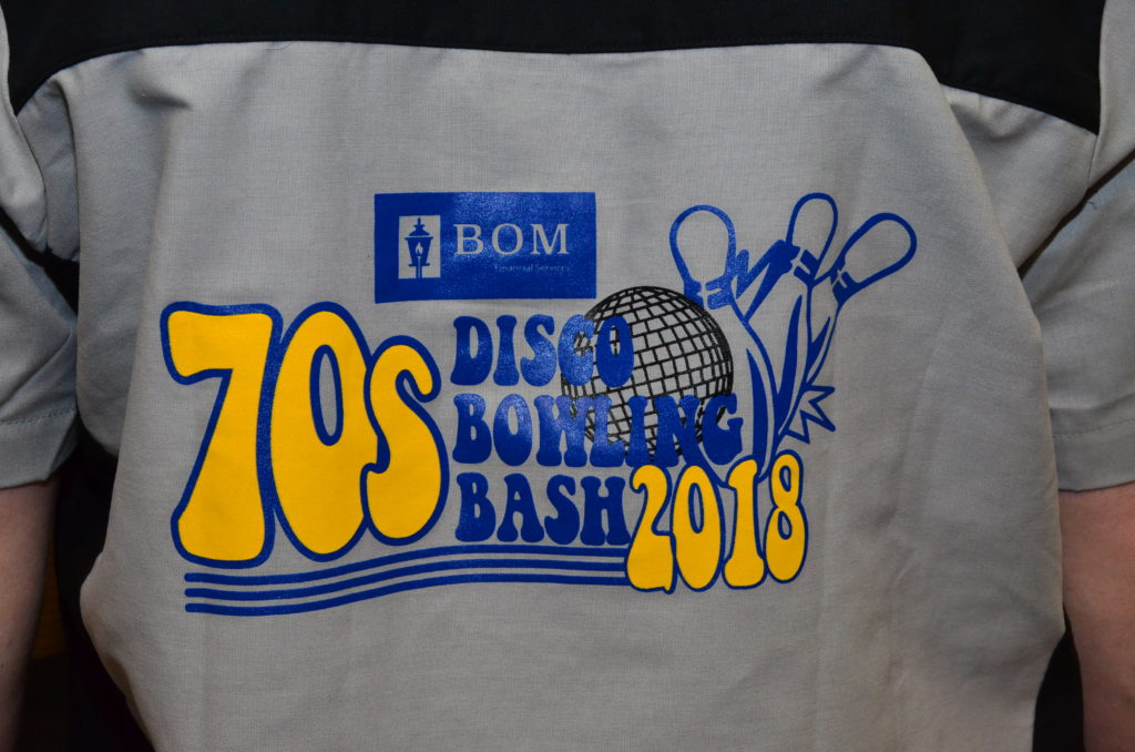 Video & Photos: 70s Disco Bowling Bash presented by BOM