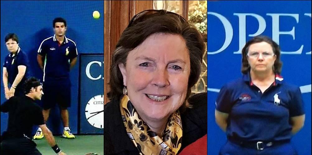 Trailblazing tennis official Marie Gagnard still proving worthy at 60