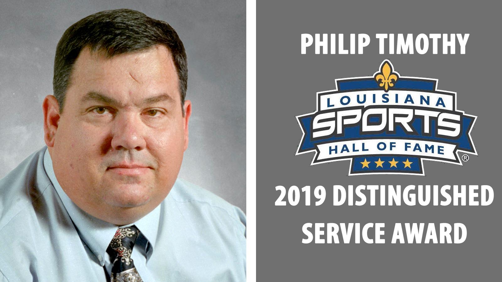 Philip Timothy's talent, tenacity, passion made him Louisiana Sports Hall-worthy