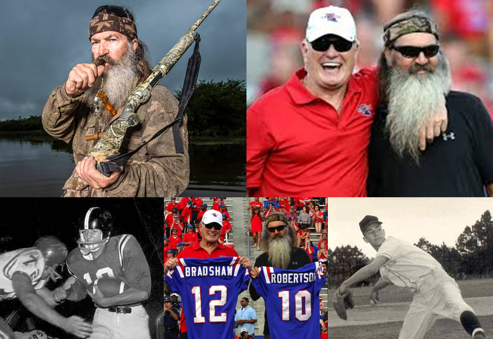 Robertson followed the call of the wild, became America's Duck Commander