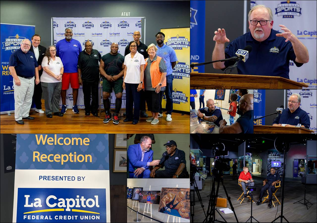 Video: LSHOF 2020 Induction Class Press Conference and Welcome Reception hosted by La Capitol Federal Credit Union