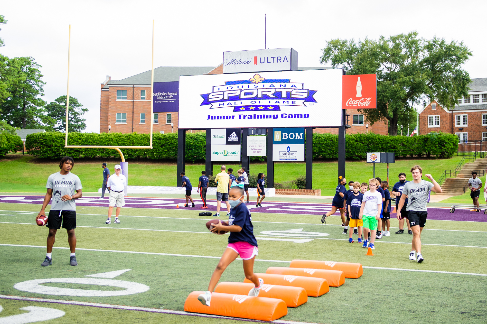 Video: 2021 Junior Training Camp presented by Natchitoches Regional Medical Center