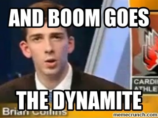 Image result for boom goes the dynamite