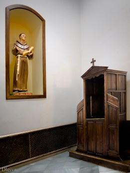 Capilla de Duns Scoto y confesionario