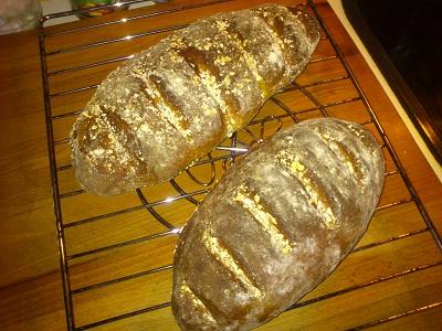 Pan de avena - Pan dulce
