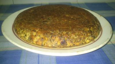tortilla de morcilla