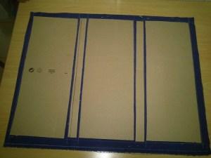 Planchas de carton maletin chef