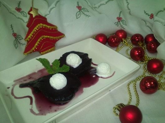 Peras al Vino - Postre Navidad (5)
