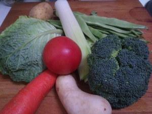 Ingredientes para sopa