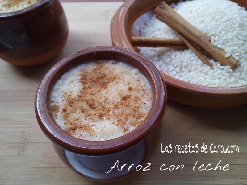 Arroz con leche receta tradicional