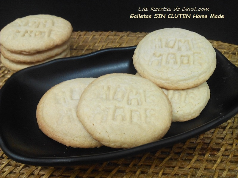 Galletas sin gluten Home Madr