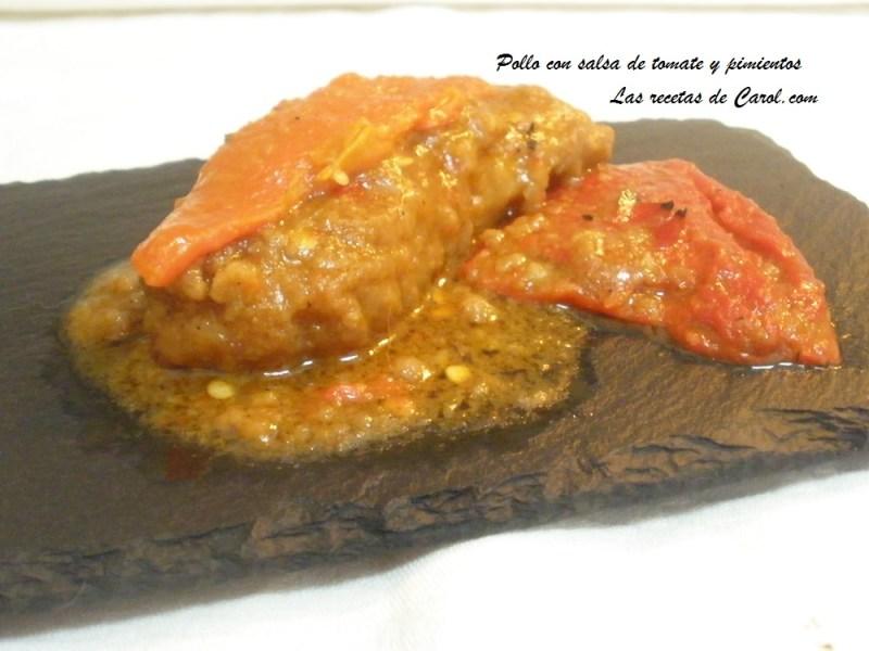 Pollo con salsa de tomate y pimientos (6).JPG