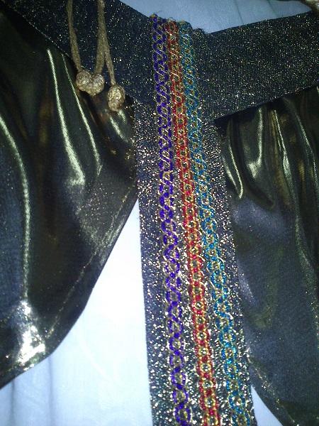 Cinturon disfraz egipcio (2)