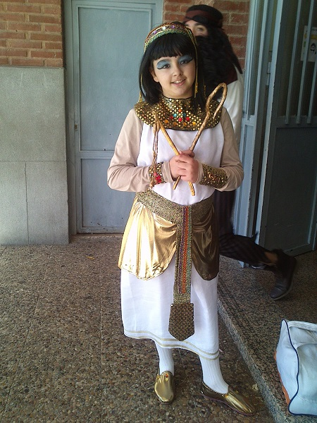 Disfraz egipcia (2)