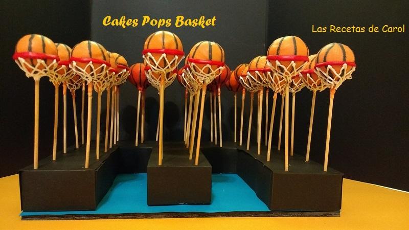 Cakes Pops Basket