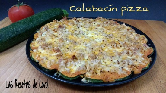 Calabacín Pizza