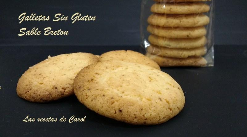 Galletas Sin Gluten Sable Breton