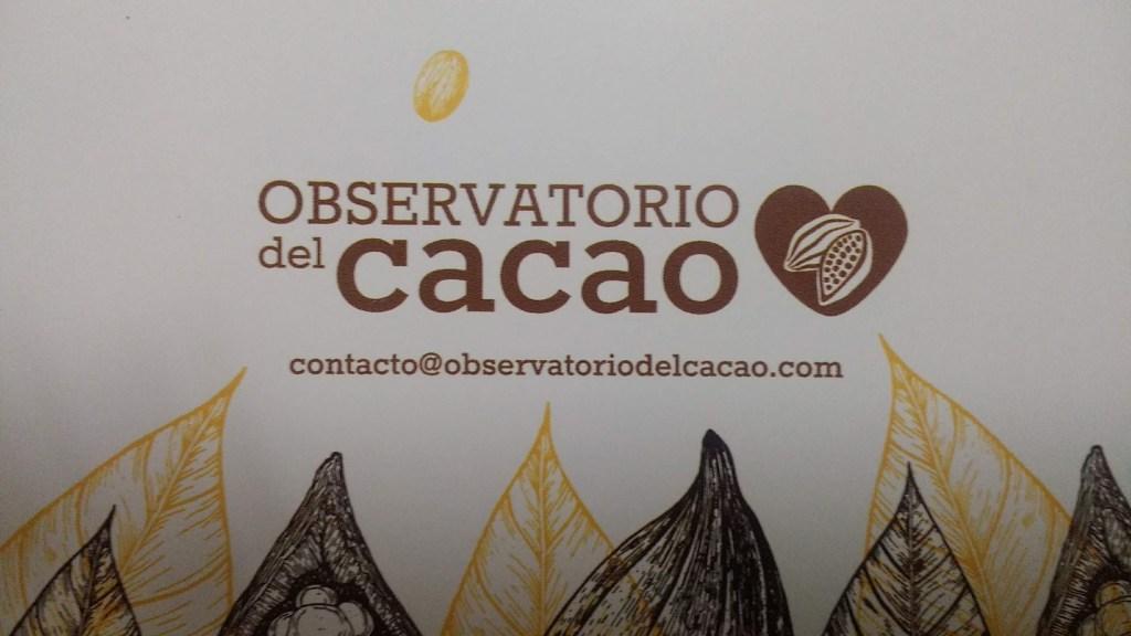 Cacao natural - Observatorio del cacao