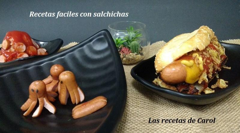 Recetas faciles con salchichas