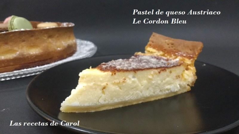 Pastel de queso Austriaco