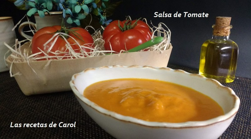 Salsa de tomate en Monsieur Cuisine