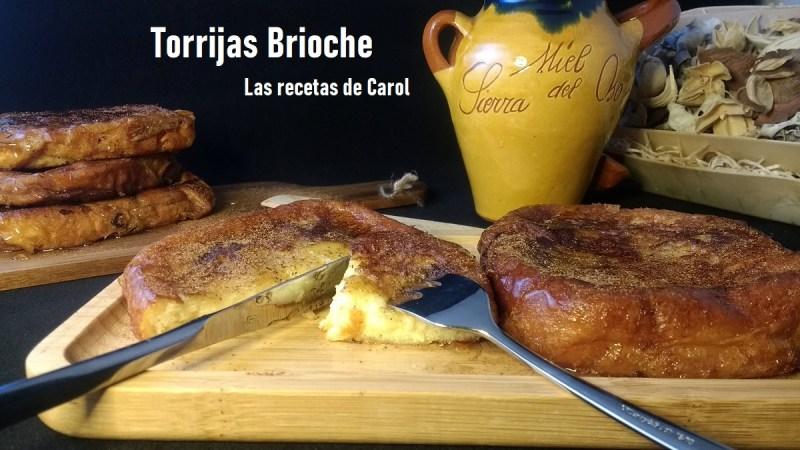 Torrijas de Brioche