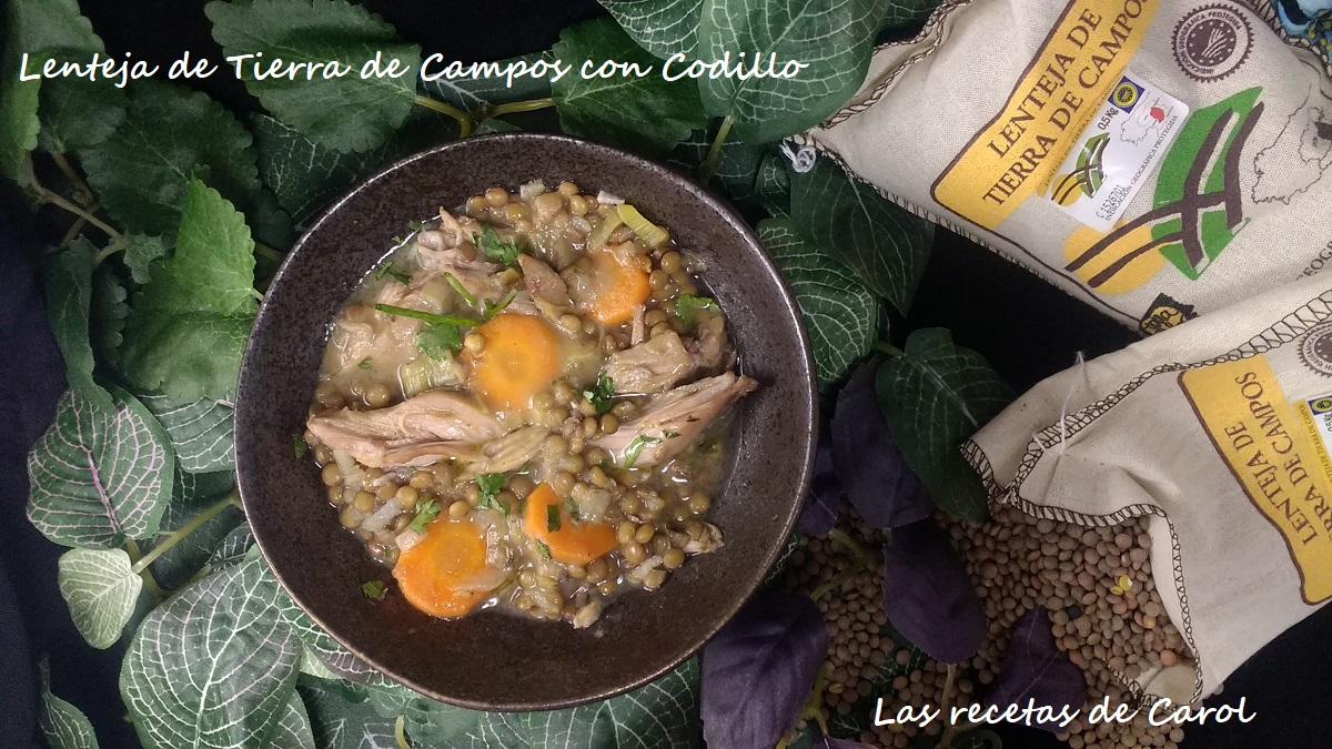 Lenteja de Tierra de Campos con Codillo