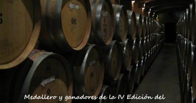 Ganadores 4ª edición Concurso Nacional de Vinos de Pequeñas D.O.'s