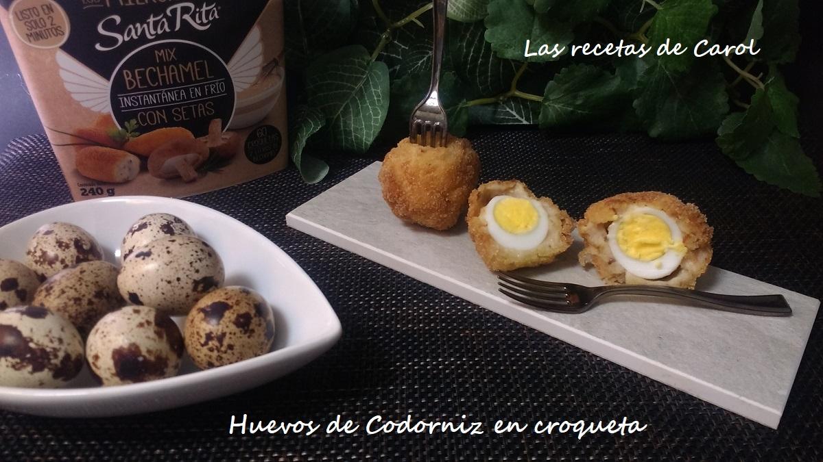 Huevos de Codorniz en croqueta