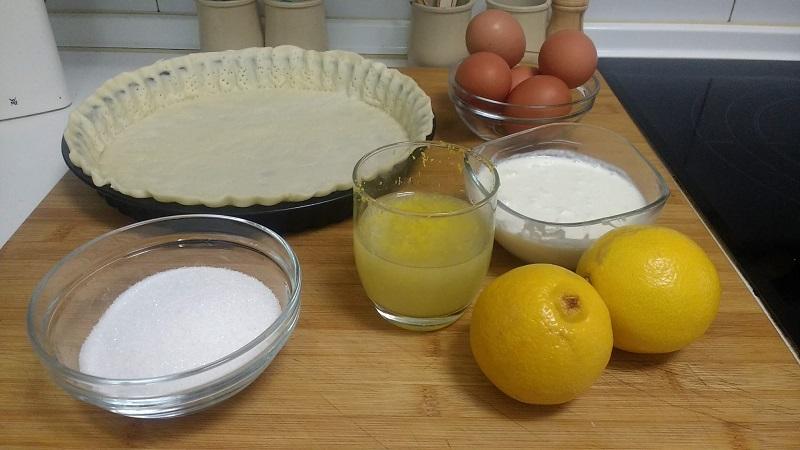 Tarta de limón repostería francesa