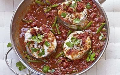 Recetas – Pescado de tamarindo con Tomate y curry