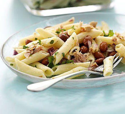 Recetas – Ensalada de pasta con atún