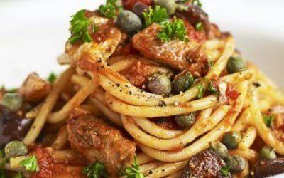 Recetas – Espaguetis con sardinas