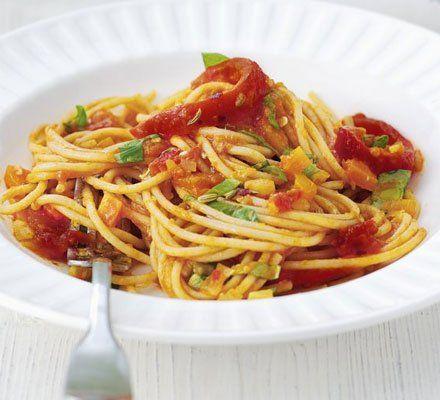Recetas – Super-veg pasta