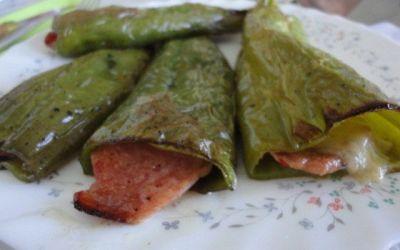 Recetas – Pimientos italianos rellenos de pavo y queso ahumado