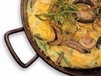 Recetas – Tortilla de hongos