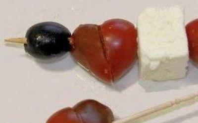 Recetas – Pinchos Griegos San Valentín