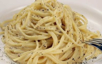 Recetas – Pasta con queso y pimienta