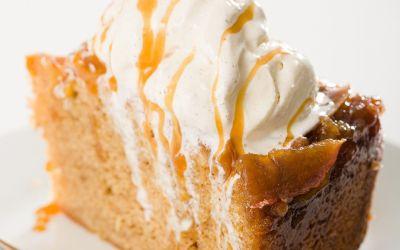 Pastel de manzana al revés – El mejor pastel de especias de manzana y caramelo