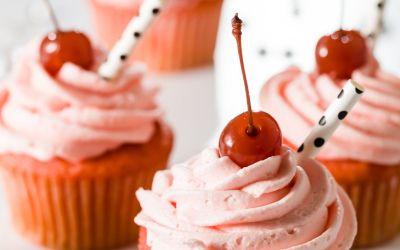 Shirley Temple Cupcakes – Los mejores cupcakes de cóctel virgen
