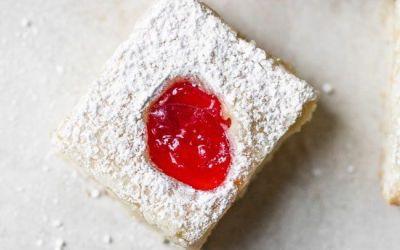 Cuadrados de fresa (cuadrados de pastel) – Cuadrados de fresa