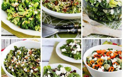 Diez ensaladas de invierno bajas en carbohidratos para cenas navideñas