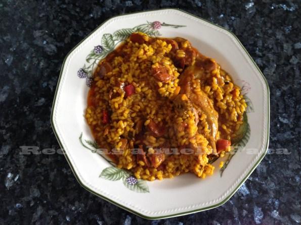 arroz conejo y chorizo blog