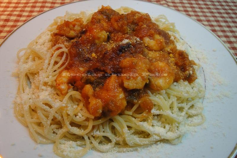 Espaguetis con gambas0 (0)