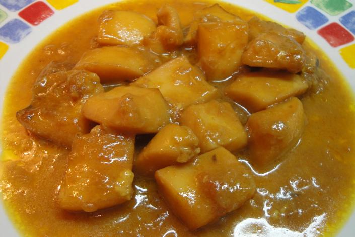 Jibia en salsa de Almería