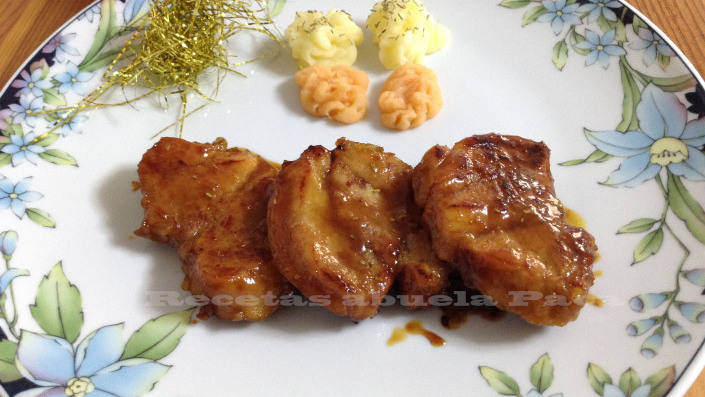 Solomillo de cerdo a la miel0 (0)